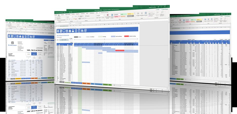 Verhuur in Excel - verhuurbeheer voor slimme ondernemers