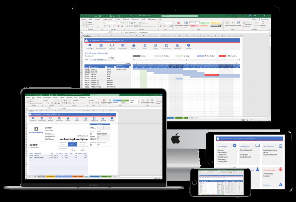 Verhuur in Excel - simipel verhuurbeheer